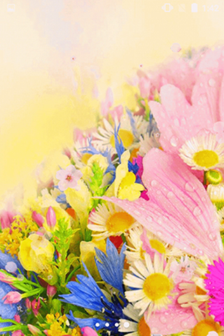 Flowers by Phoenix Live Wallpapers - Скриншот 3