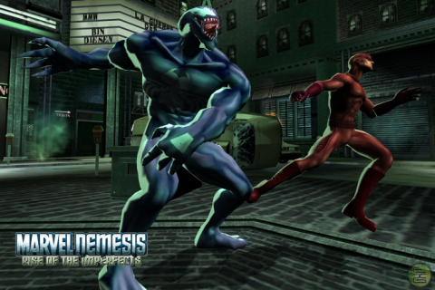 Marvel Nemesis: Rise of the Imperfects - Скриншот 1
