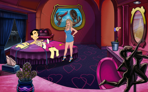 how to play leisure suit larry reloaded android