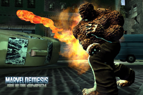 Marvel Nemesis: Rise of the Imperfects - Скриншот 2