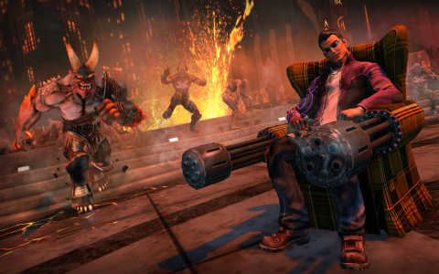Saints Row: Gat out of Hell - Скриншот 1