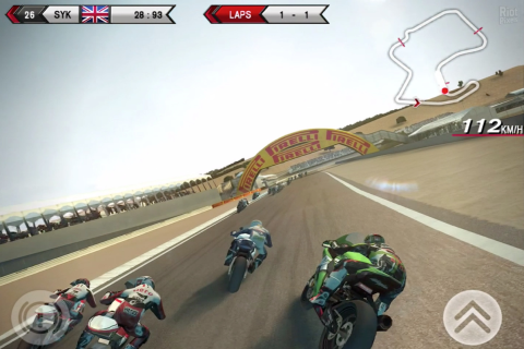 SBK14 Official Mobile Game - Скриншот 1