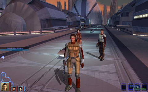 Star Wars: Knights of the Old Republic - Скриншот 1