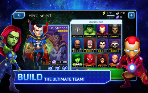 Marvel Mighty Heroes - Скриншот 1