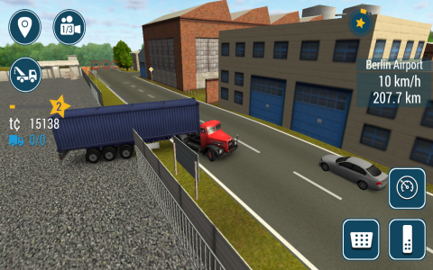 TruckSimulation 2016 - Скриншот 1
