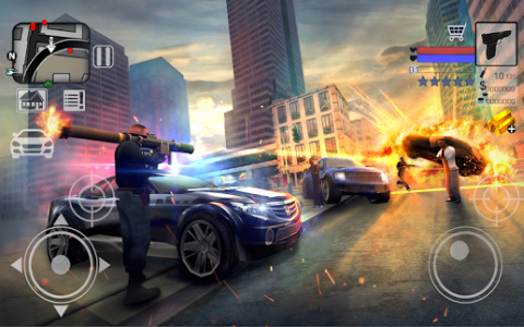 Police vs Gangster New York 3D - Скриншот 2