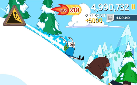 Ski Safari: Adventure Time - Скриншот 3
