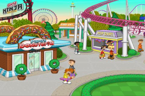 скачать игру папа луи на андроид бесплатно пончики - фото 3