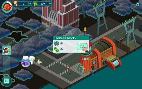 Futurama: Worlds of Tomorrow - Скриншот 1