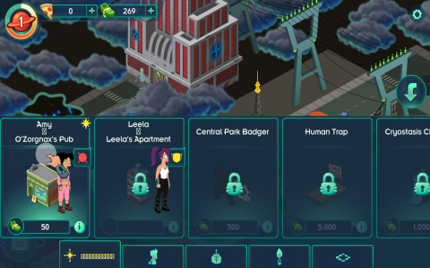 Futurama: Worlds of Tomorrow - Скриншот 3
