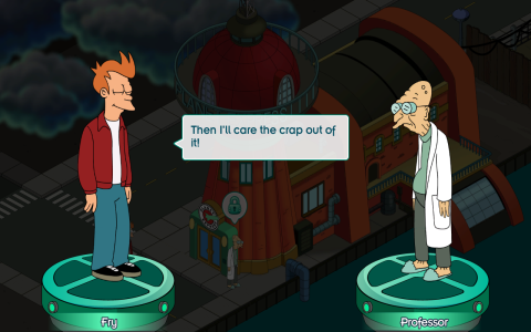 Futurama: Worlds of Tomorrow - Скриншот 2