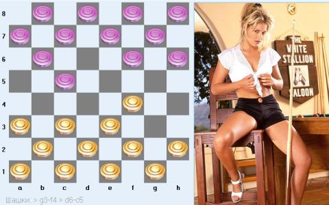 шашки на раздевание