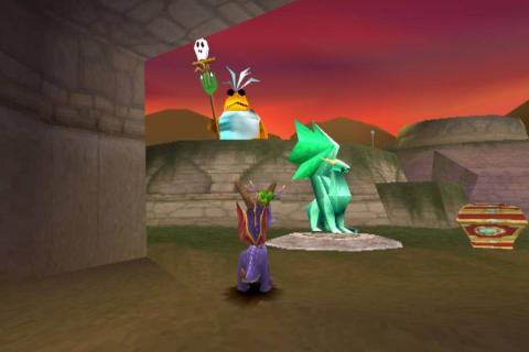 Скачать Spyro The Dragon для Android apk