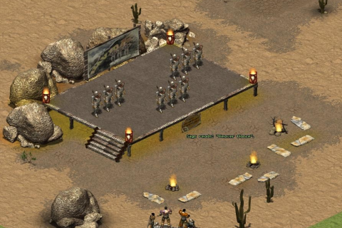 Скачать Fallout Tactics: Brotherhood of Steel для Android apk