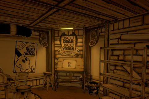 Bendy and the Ink Machine - Скриншот 1