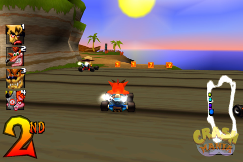 Crash Team Racing - Скриншот 2