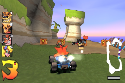 Crash Team Racing - Скриншот 1