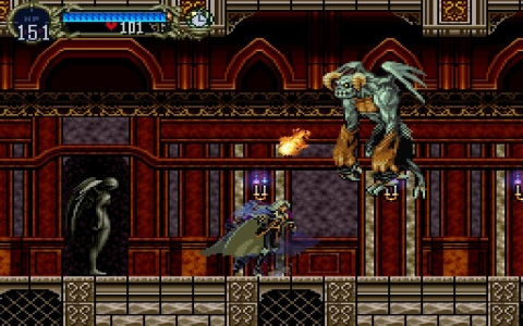 Castlevania: Symphony of the Night - Скриншот 1